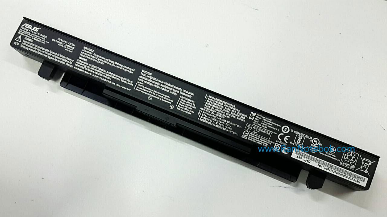 Battery Asus K550J K550JK A41-X550A ของแท้ ประกันศูนย์ ASUS ราคา ไม่แพง