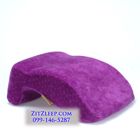 หมอนงีบหลับอเนกประสงค์ เมมโมรี่โฟม (PL-004) หมอนงีบหลับอเนกประสงค์ เมมโมรี่โฟม ปลอกผ้ากำมะหยี่ ใช้สำหรับงีบหลับ หรือเป็นหมอนพิง