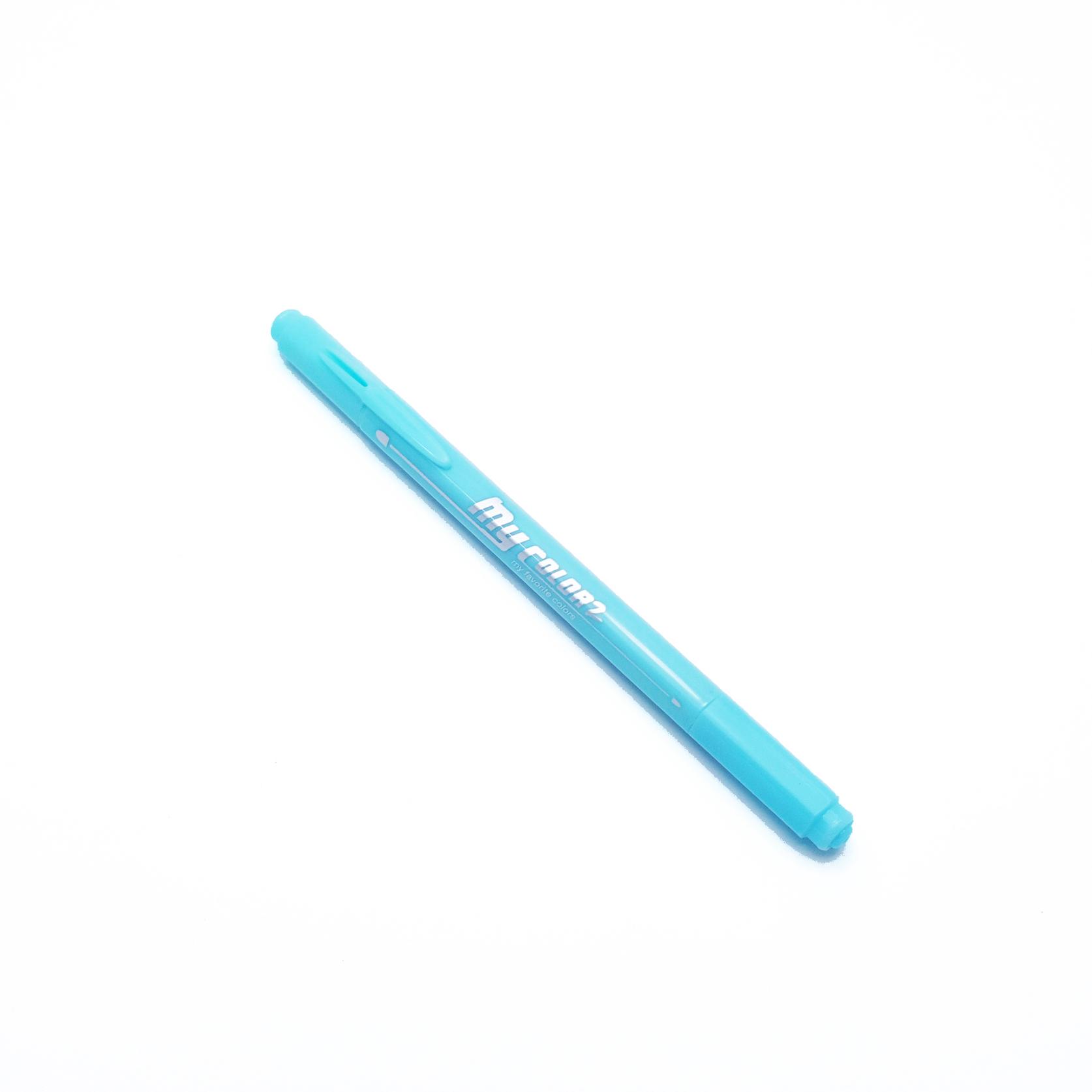 ปากกาสี 2 หัว My Color 2 - No.64 Aquamarine