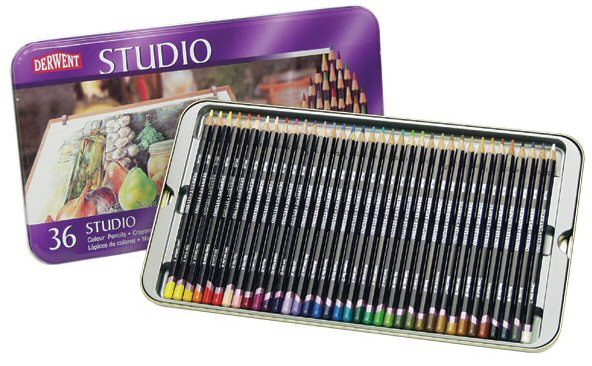 สีไม้ DERWENT Studio - 36 Colours