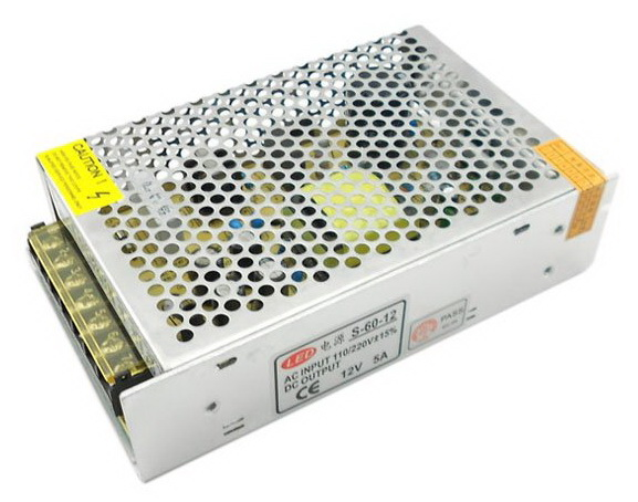 Switching Power Supply 12V 5A 60W