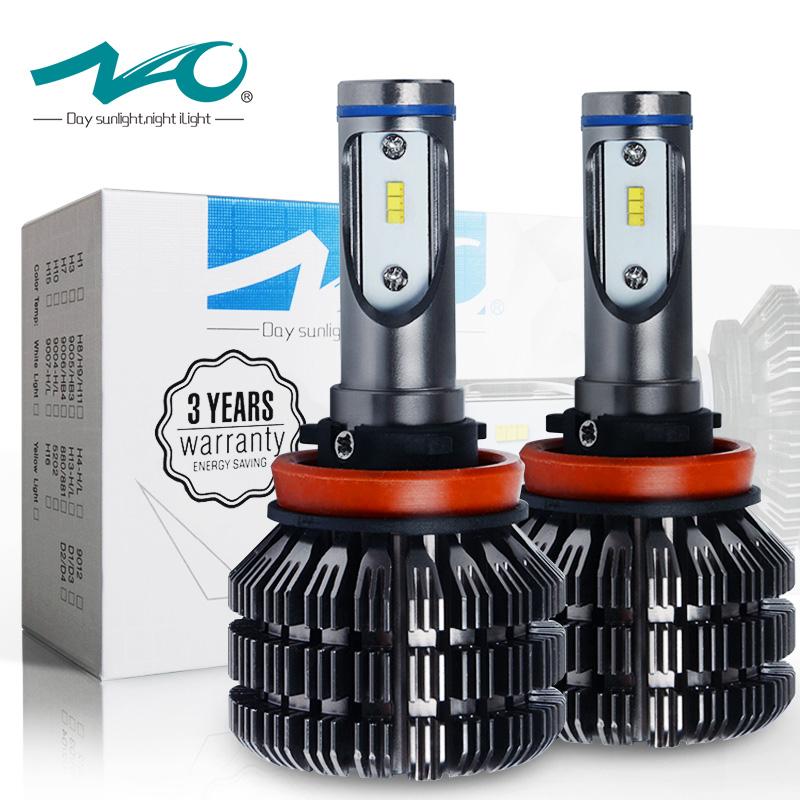 ไฟหน้า LED ขั้ว H11 Smart Light 50W รุ่น V5