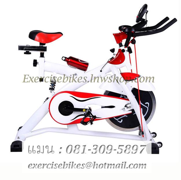 จักรยานออกกําลังกาย ระบบสายพาน Spin Bike แบบมีโช้ค รุ่น 883