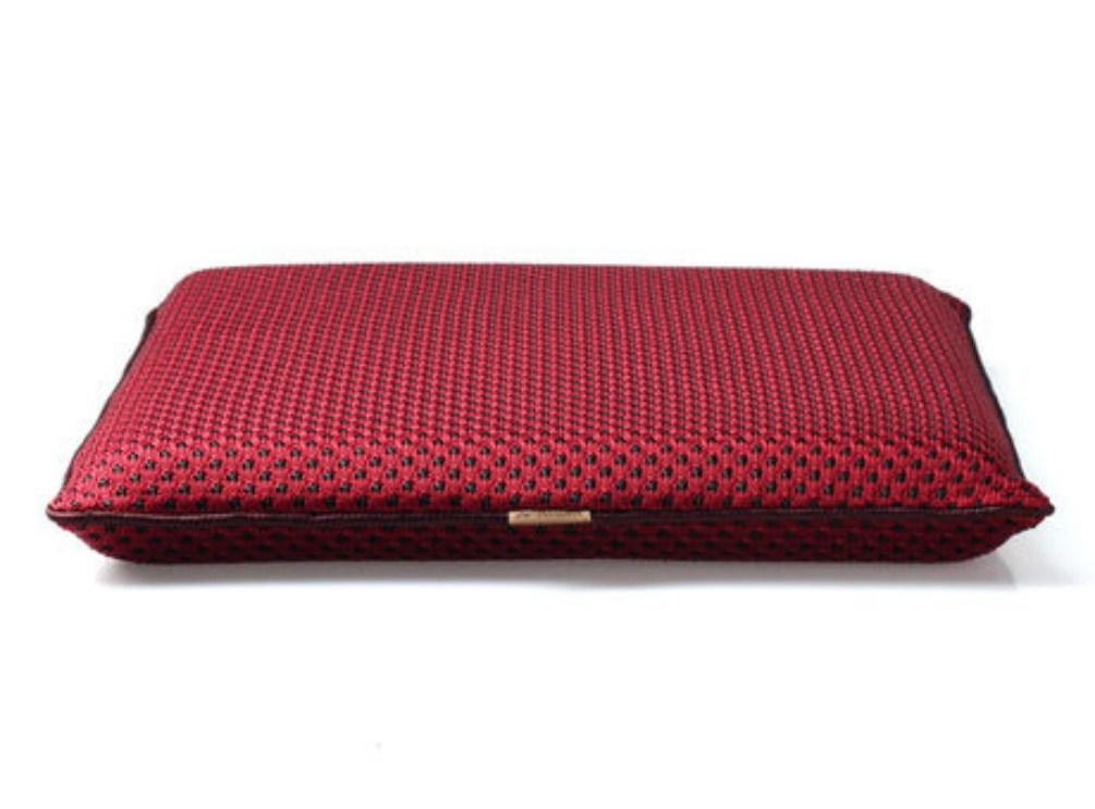 เบาะรองนั่ง ทรงสี่เหลี่ยม (CU-007) เมมโมรี่โฟม ผ้าตาข่าย 40*40*5 ซม แก้ปวดหลัง ใช้นั่งสมาธิ รองนั่งรถยนต์ นั่งทำงาน (Square Mesh Case Memory Foam Cushion)
