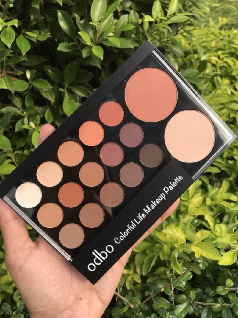เมคอัพ OD1017 odbo colorful life makeup palette
