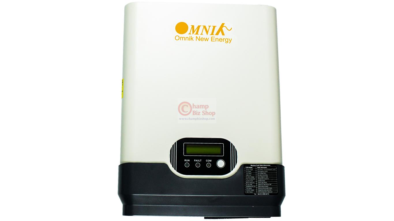 OMNIK - OMNIKSOL-1.5K-TL เครื่องแปลงไฟ อินเวอร์เตอร์ Grid Tie Inverter - OMNIK 1 เฟส ขนาด 1.5KW