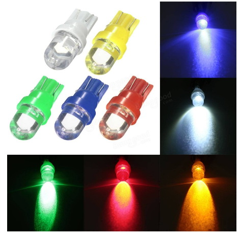 LED T10 1 ดวง 1W