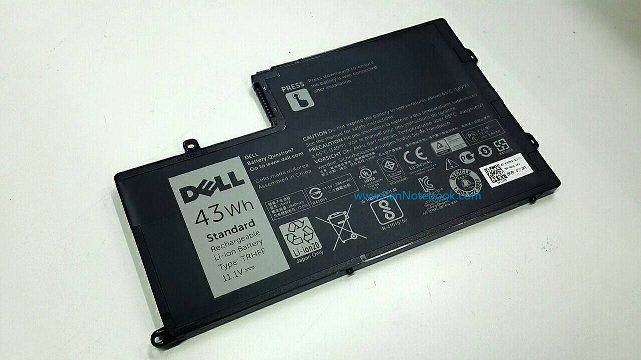Battery Dell Latitude 3550 TRHFF ของแท้ ประกันตรง ศูนย์ Dell Thailand