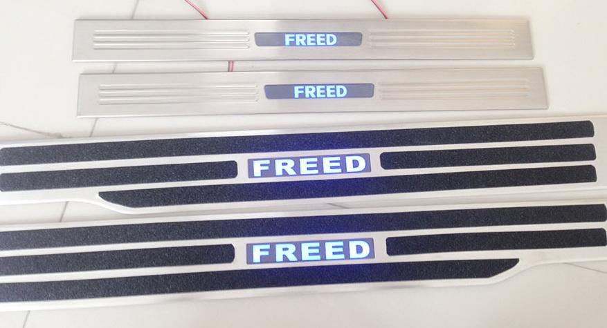สคัพเพลท Honda Freed มีไฟ LED