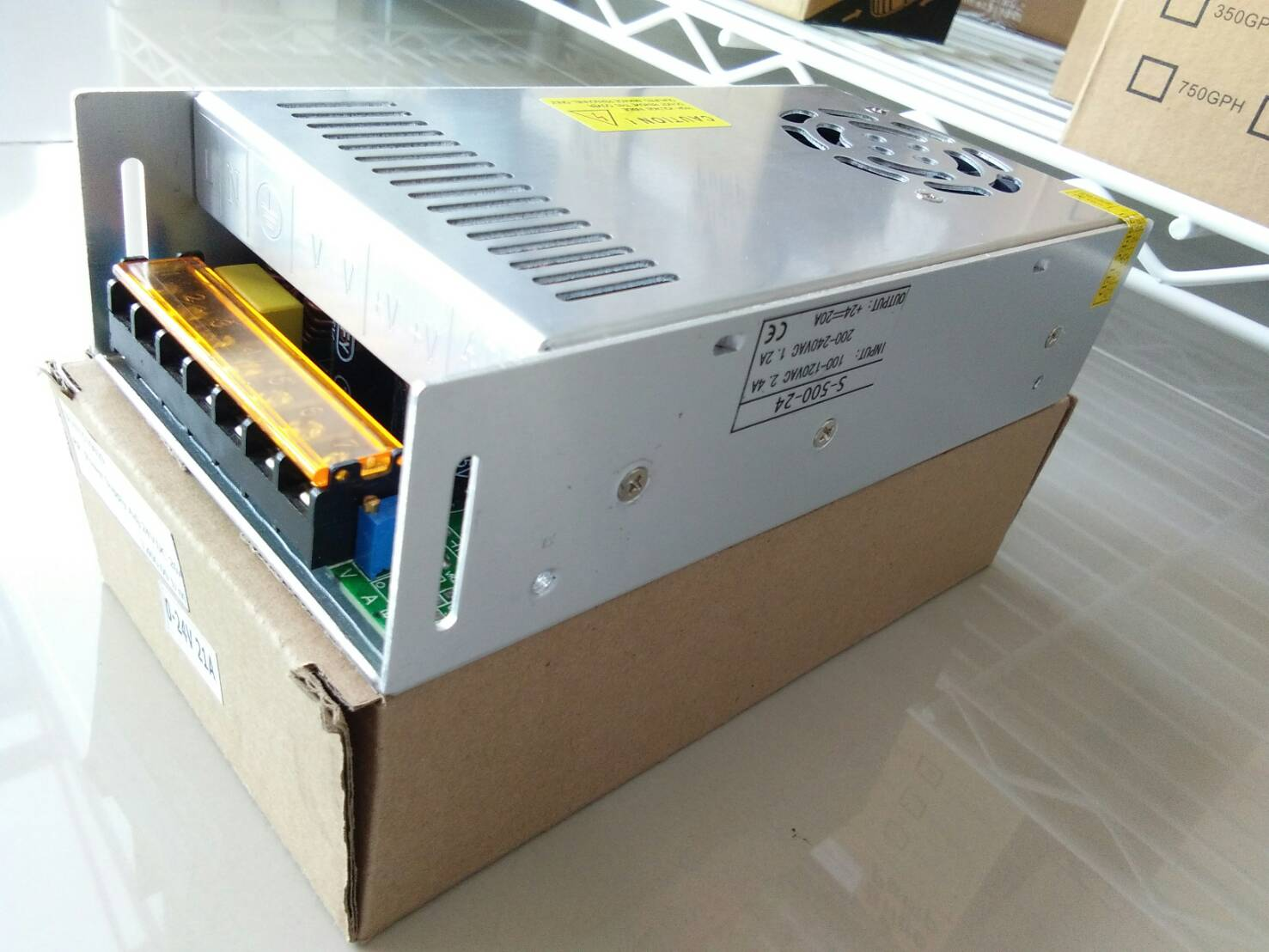 Power Supply - Adj 24VDC 20A