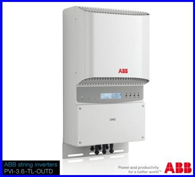 Inverter (หม้อแปลงไฟฟ้า) รุ่น ABB PVI-5000-TL-OUTD-S