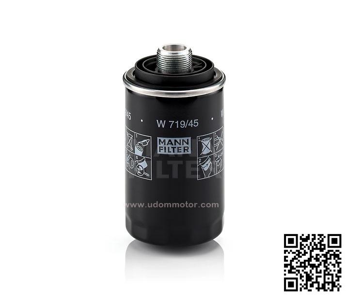ไส้กรองน้ำมันเครื่อง AUDI Q3, Q5 2.0 TFSI (รูปจริง) / Oil Filter, 06H115561, 06J115403C