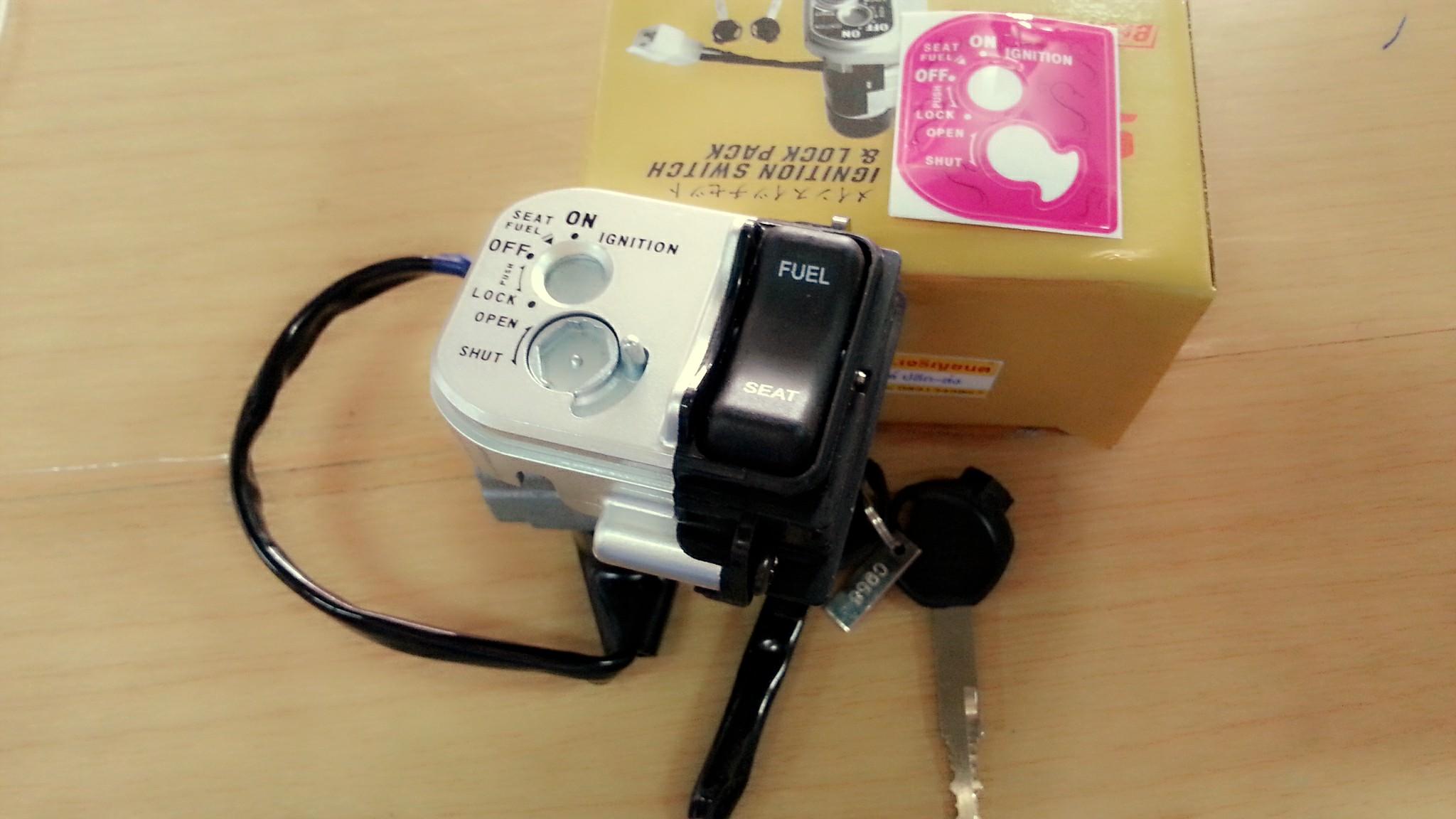 สวิทช์กุญแจ PCX 150 ปี2012-2013