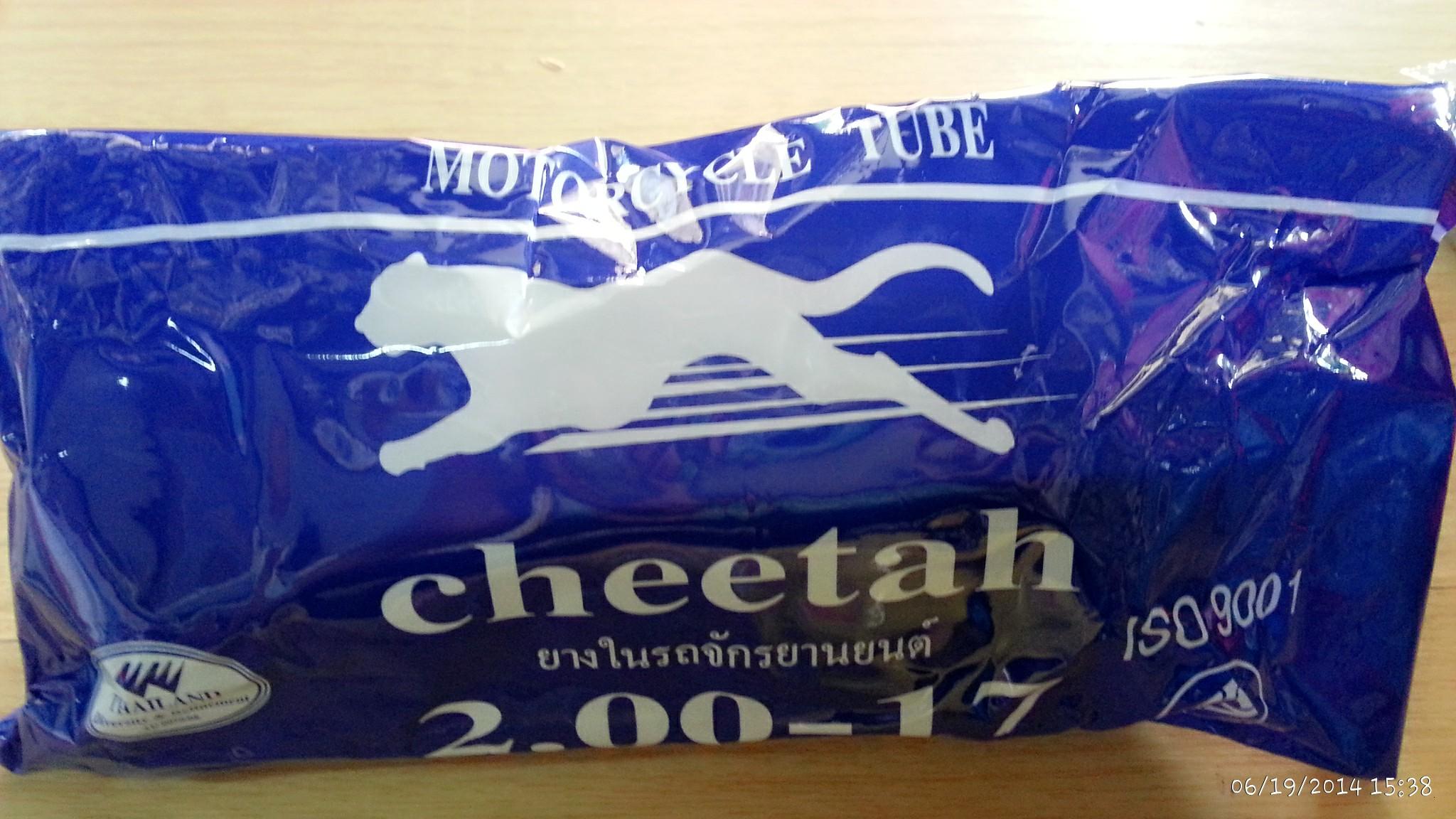 ยางใน 1.85/2.00-17 ชีต้า Cheetah