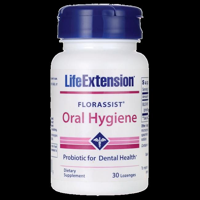 FLORASSIST® Oral Hygiene Probiotic For Dental Health* 30 lozenges