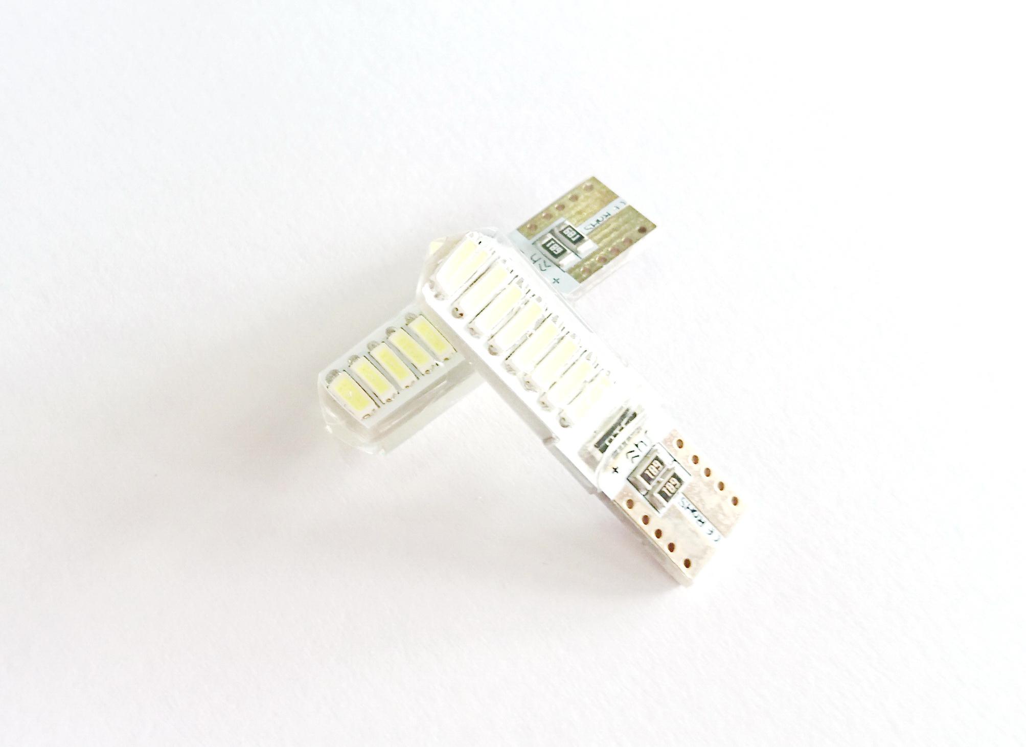 SMD T10 16 ดวง Silicone