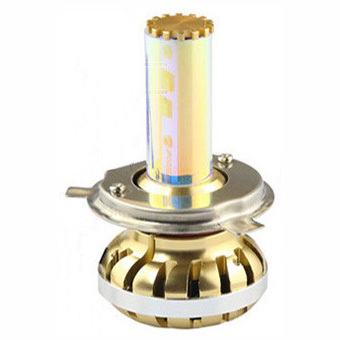 H4 LED Headlight 60W Super Bright Gold