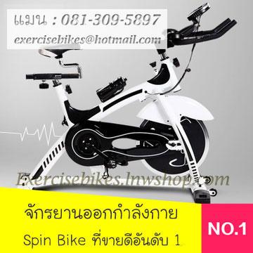 จักรยานออกกําลังกาย ระบบสายพาน Spin Bike รุ่น 882