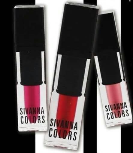 Sivanna Colors Art Special Deluxe Matter Lip Gloss HF562 ลิปสติกเนื้อแมท สีสวย ติดทนนาน