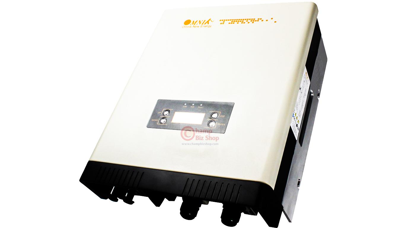 OMNIK - OMNIKSOL-5K-TL2 เครื่องแปลงไฟ อินเวอร์เตอร์ Grid Tie Inverter - OMNIK 1 เฟส ขนาด 5KW ผ่านการรับรองจาก กฟภ.