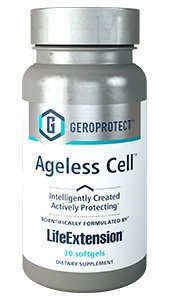 GEROPROTECT™ Ageless Cell™ Defy aging with nutrients identified by artificial intelligence 30 softgels