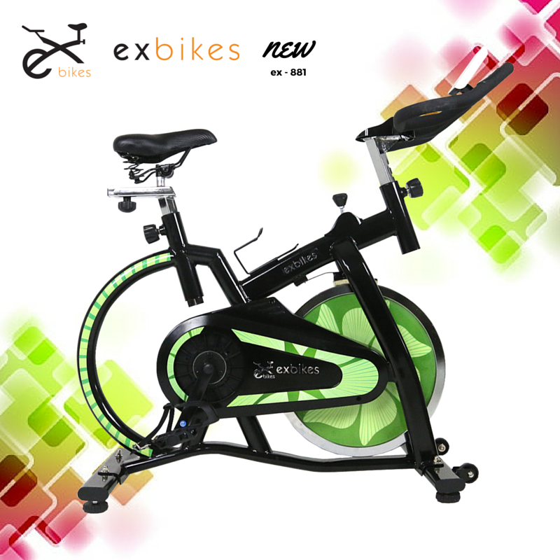 จักรยานออกกำลังกาย spin bike รุ่น 881