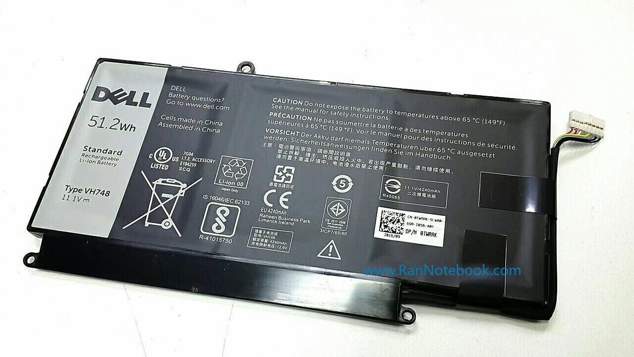 Battery Dell Vostro 5460 แบตเตอรี่ Dell Vostro 5460 แท้ ประกันศูนย์ Dell Thailand ราคา ไม่แพง