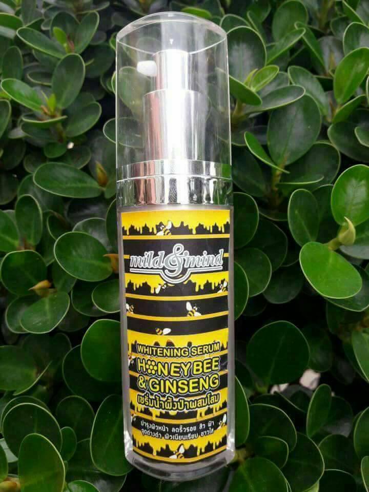 เซรั่มน้ำผึ้งป่าผสมโสม มายด์แอนด์มายด์ ของแท้ โปรฯ ถูกที่สุด