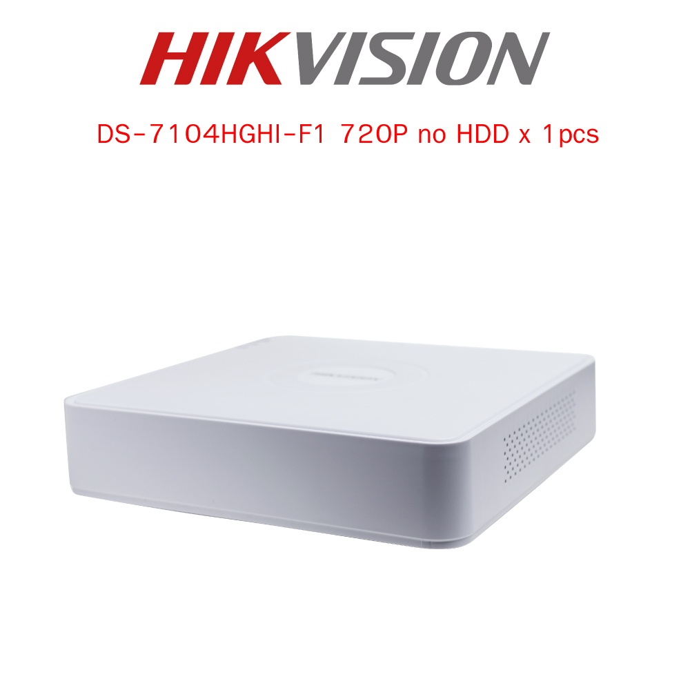 กล้องวงจรปิด Hikvision Turbo HD HDTVI Camera DS-7104HGHI-F1 HD720P 1MP