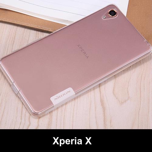 เคสยาง Xperia X ของ Nillkin Nature TPU 0.6mm Case