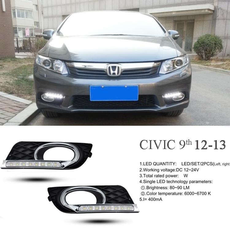 ไฟ SMD Daylight Honda Civic 2012-15 ตรงรุ่น