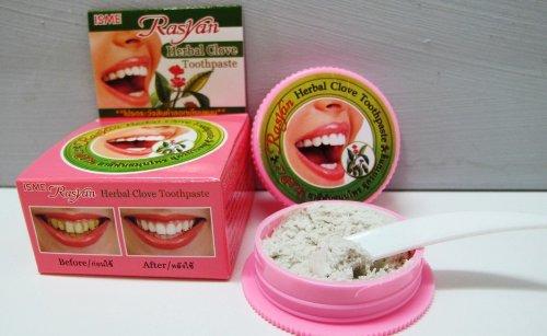 Isme Rasyan อิสมี ราสยาน ยาสีฟันสมุนไพร สูตรกานพลู ของแท้ ราคาถูก