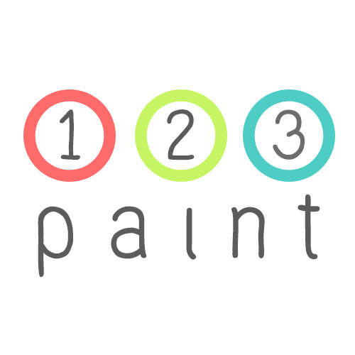 1-2-3 Paint ภาพระบายสีตามตัวเลข