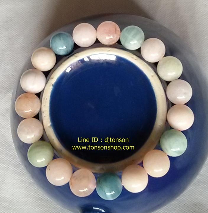 สร้อยข้อมือเบริล (Beryl) หินมงคล เจรจาสื่อสาร ขจัดความเครียด ทำให้อ่อนกว่าวัย ราคาถูก