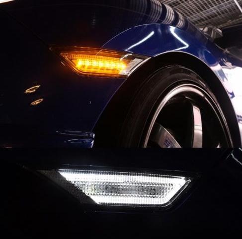 ไฟเลี้ยวแก้มข้าง LED Civic 2016