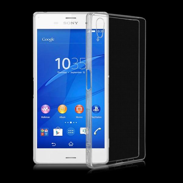 เคสยาง Xperia Z5 แบบ Ultra thin Crystal Clear Soft TPU Case - สีใส