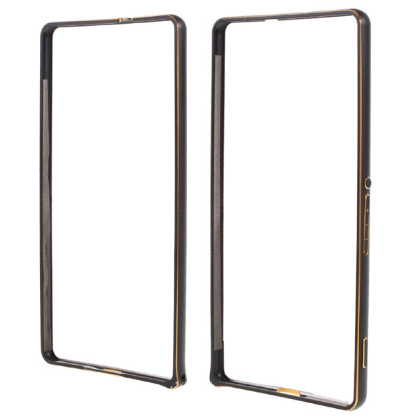 เคส Xperia C5 Ultra แบบ Bumper Metal Slim Case