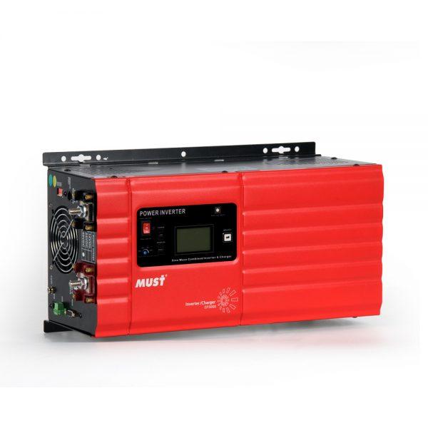 Inverter (หม้อแปลงไฟฟ้า ชนิดขดลวด Transformer) รุ่น PSW-T 6000W 24V