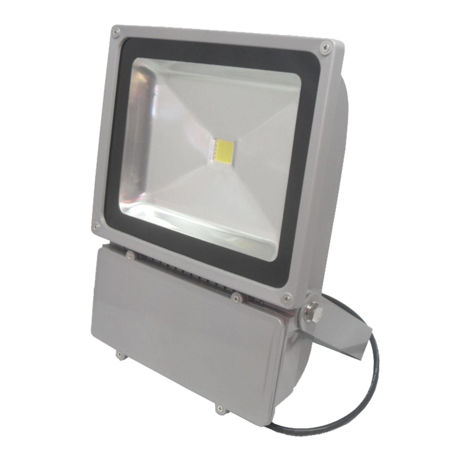 หลอดไฟ LED-FL ขนาด 100W DC24V 6000K