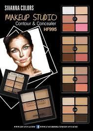 Sivanna HF995 MakeUp Studio Contour & Concealer คอนทัวร์ และ คอนซีลเลอร์