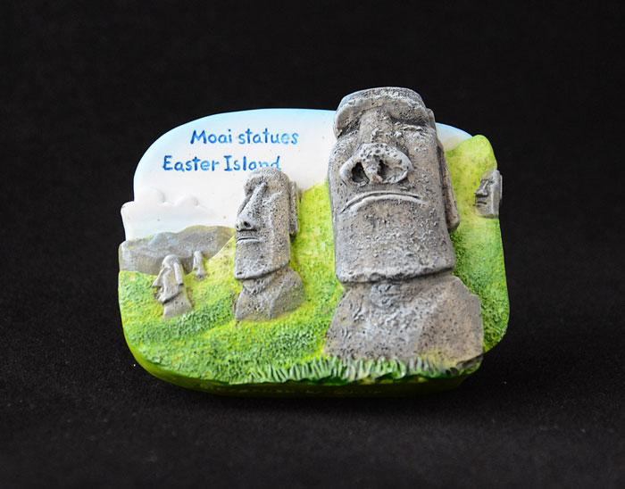 โมอาย ชิลี Moai Statues, Chili