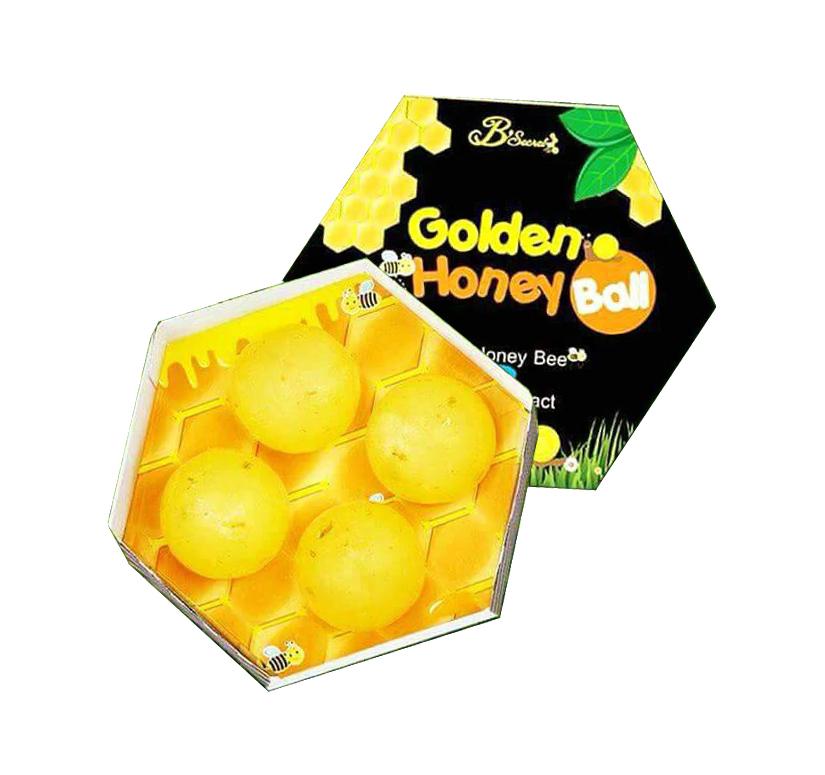 มาส์กลูกผึ้ง (B'secret Golden Honey Ball) ของแท้ โปรโมชั่นโดนใจ