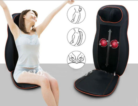 Neck and Back Massage Cushion with Infrared