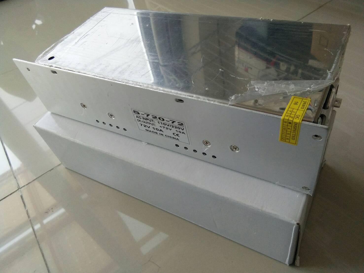 Power Supply - 72V 10A 720W