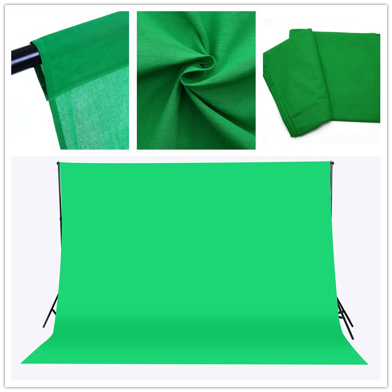 ผ้าฉากถ่ายรูป 3 x 6m SD-20171012 photography studio video backdrop background screen สีเขียว green