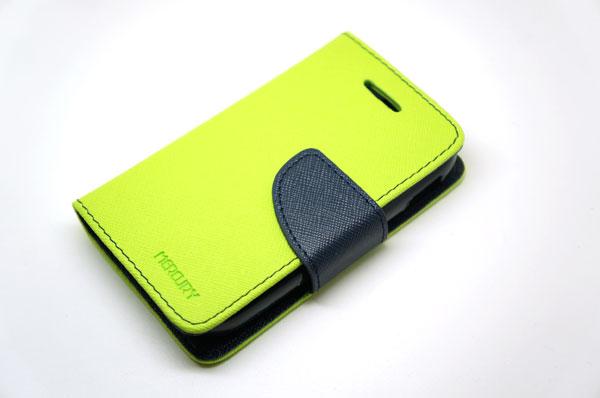 Goospery Case For Samsung Galaxy Y สีเขียวมะนาว