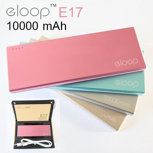 แบตสำรอง eloop e17 10000mah ของแท้ 100% ราคา 429 บาท