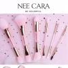 *ของแท้* Nee Cara Pink Crystal Brush แปรง 2 หัว พิงค์คริสตัล