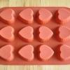 แม่พิมพ์ซิลิโคน รูปหัวใจ 12 ช่อง