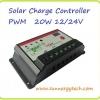 ตัวควบคุมการชาร์จแบตเตอรี่ แบบ PWM ขนาด 30A 12/24V with LED display (B)